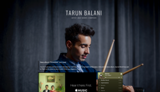 July 2019  Tarun Balani, Drummer from India, now using the shots of our portrait session for marketing cases.